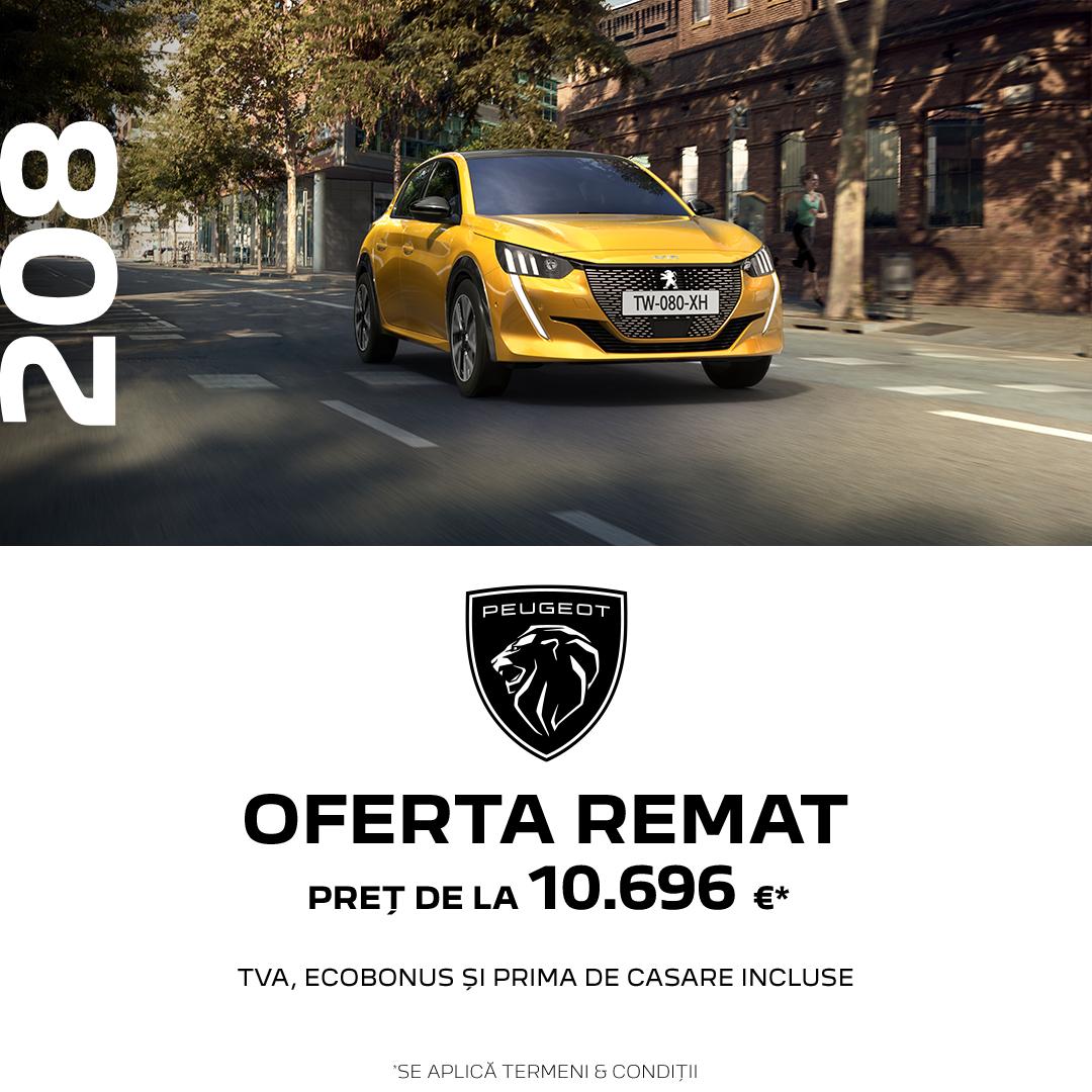 OFERTELE REMAT - Peugeot 208