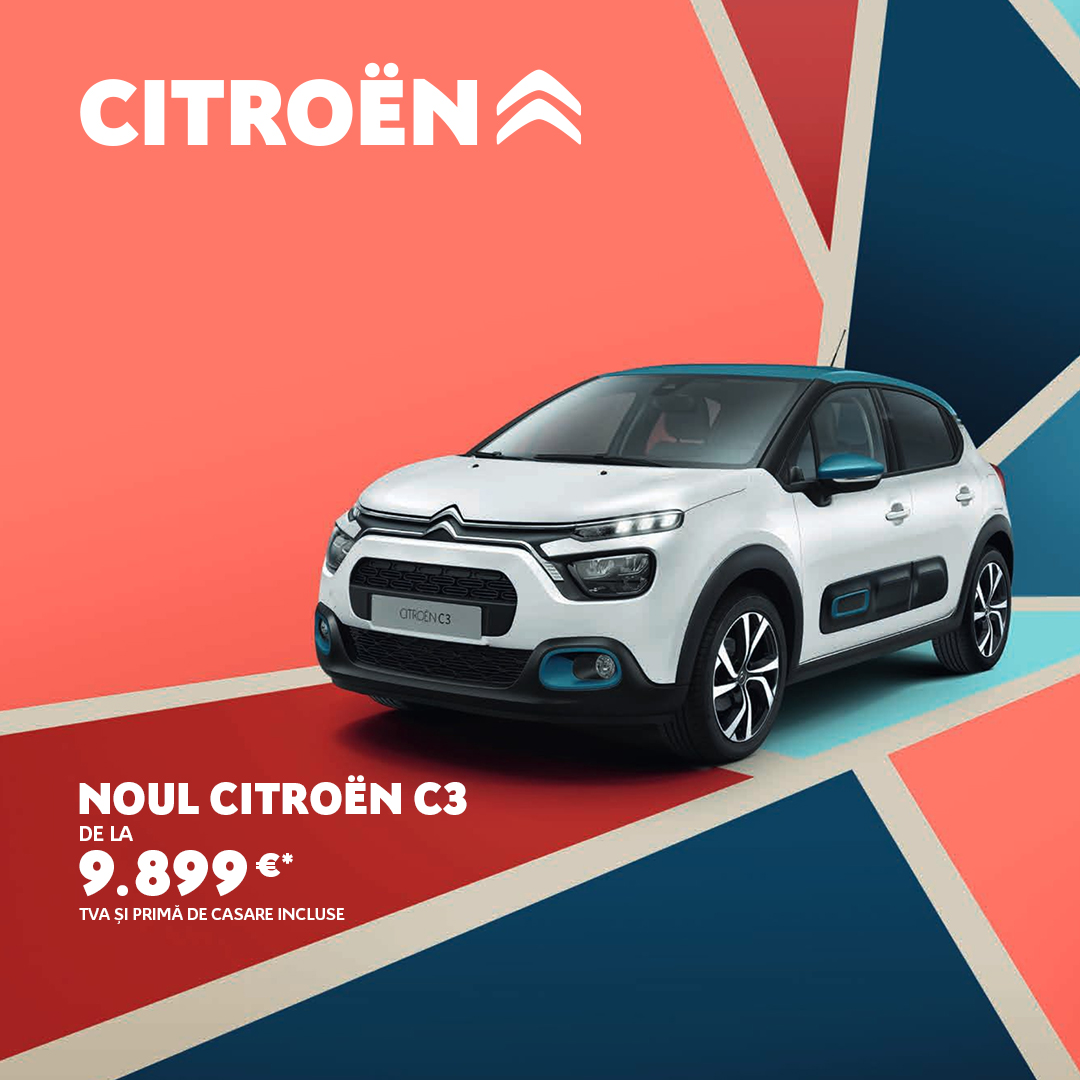 OFERTELE REMAT – Citroën C3