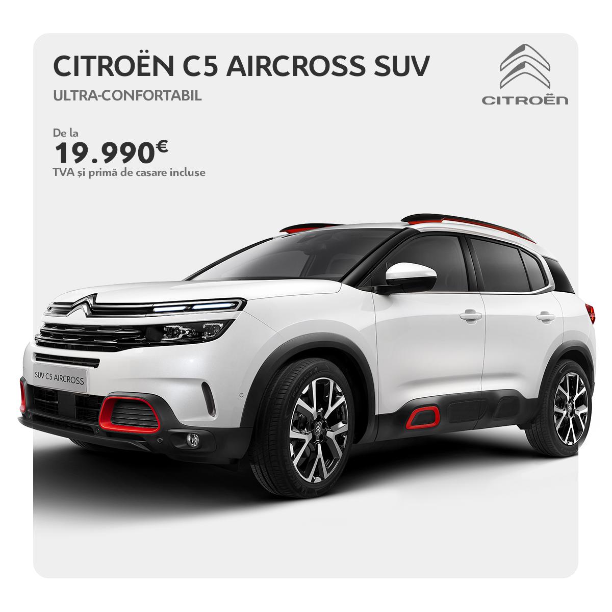 OFERTELE REMAT - Citroën C5 Aircross SUV