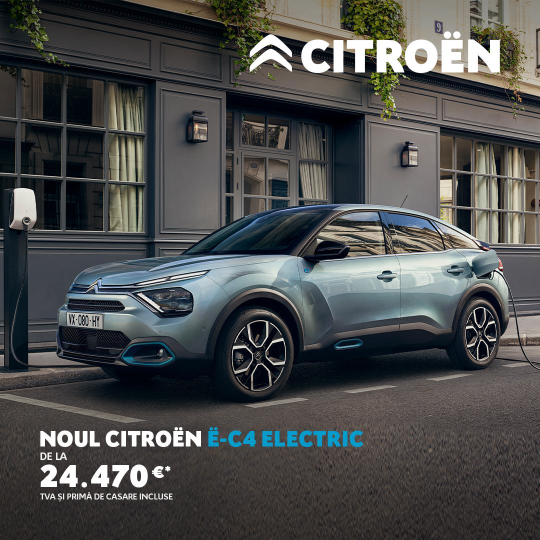 Noul Citroën ë-C4